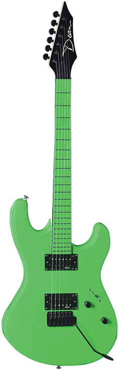 Custom Zone Guitar - Florescent Green