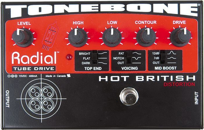 Tonebone - Hot British
