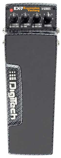 Digitech EX-7 Expression Factory  Top View