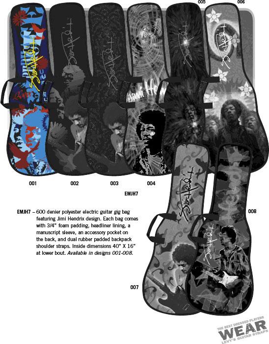 Levys Hendrix Gig Bag (EMJH7-001)