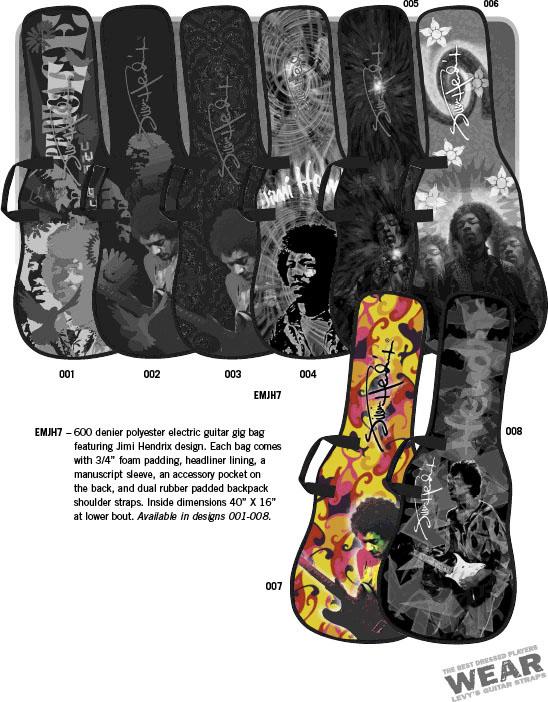 Levys Hendrix Gig Bag (EMJH7-007)