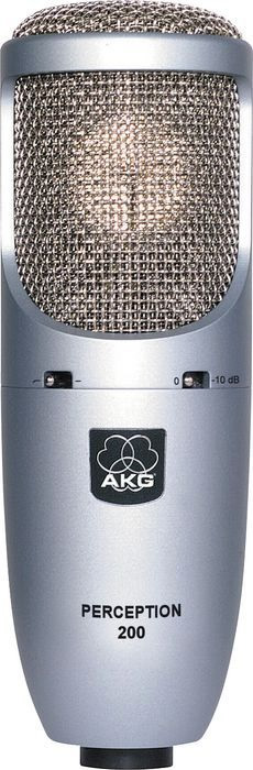 Akg Perception 200 with Shockmount and Hardshell Case Large View