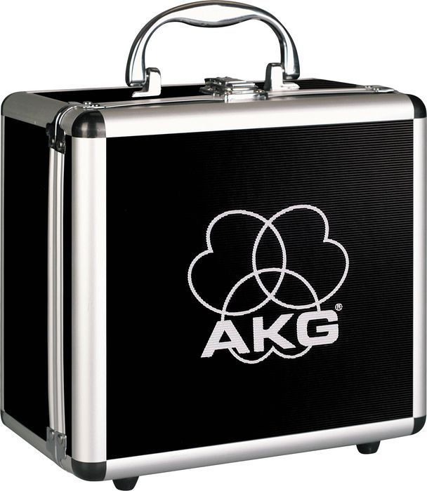 Akg Perception 200 with Shockmount and Hardshell Case Case View