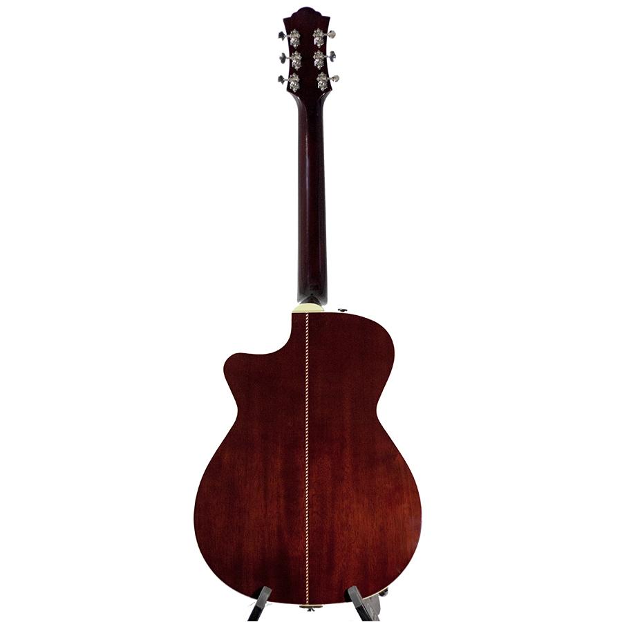 guild co1c 6 string acoustic guitar with case natural new ebay. Black Bedroom Furniture Sets. Home Design Ideas