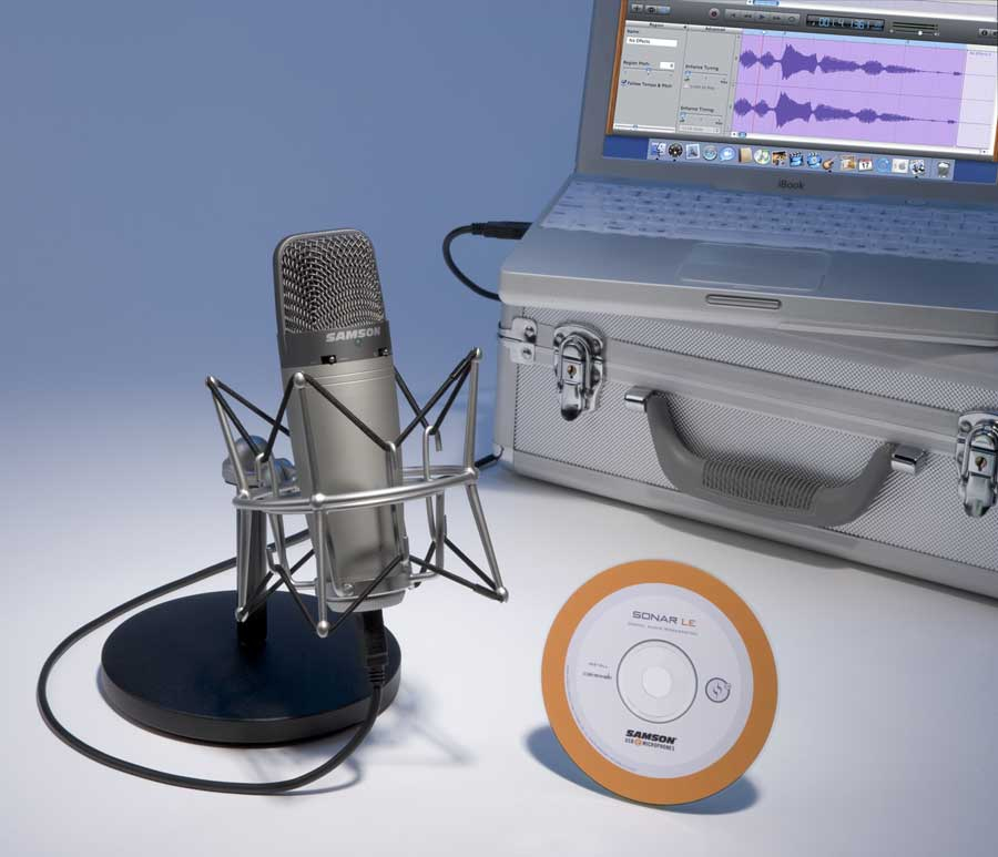 Samson C03U Recording / Podcasting Pak View 2