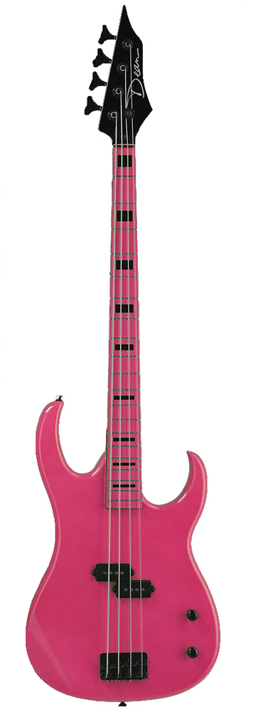 Custom Zone Bass - Fluorescent Pink