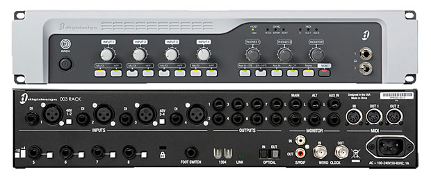 Digidesign 003 Rack Factory Detailed View