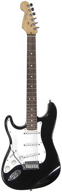 Standard Stratocaster® Left-Handed - Black/Rosewood Fretboard