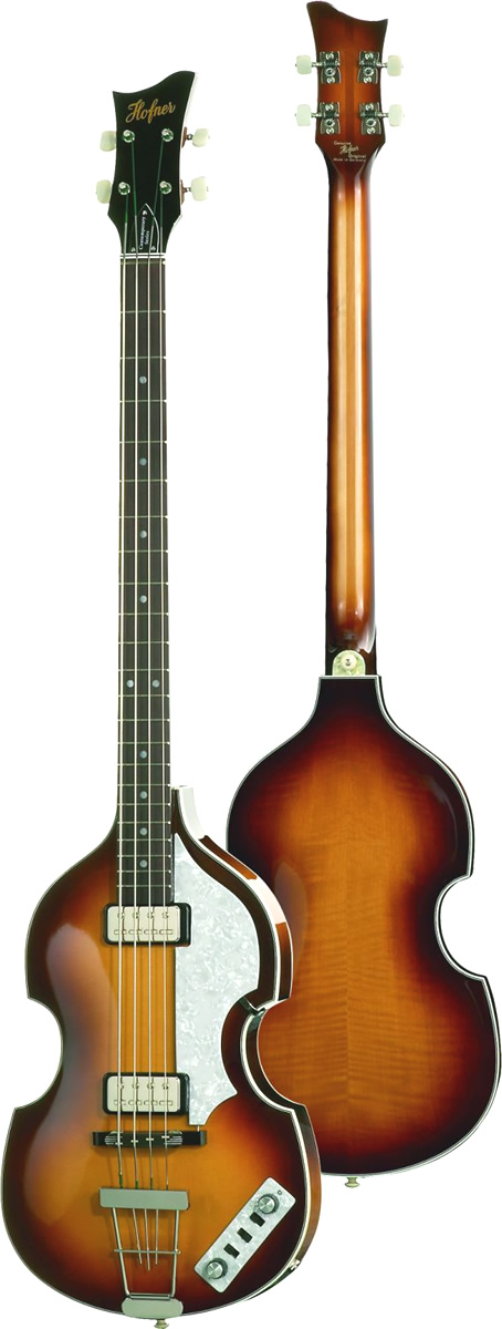 HCT-500/1 - Limited Edition Violin Bass Amber Finish w/ Case