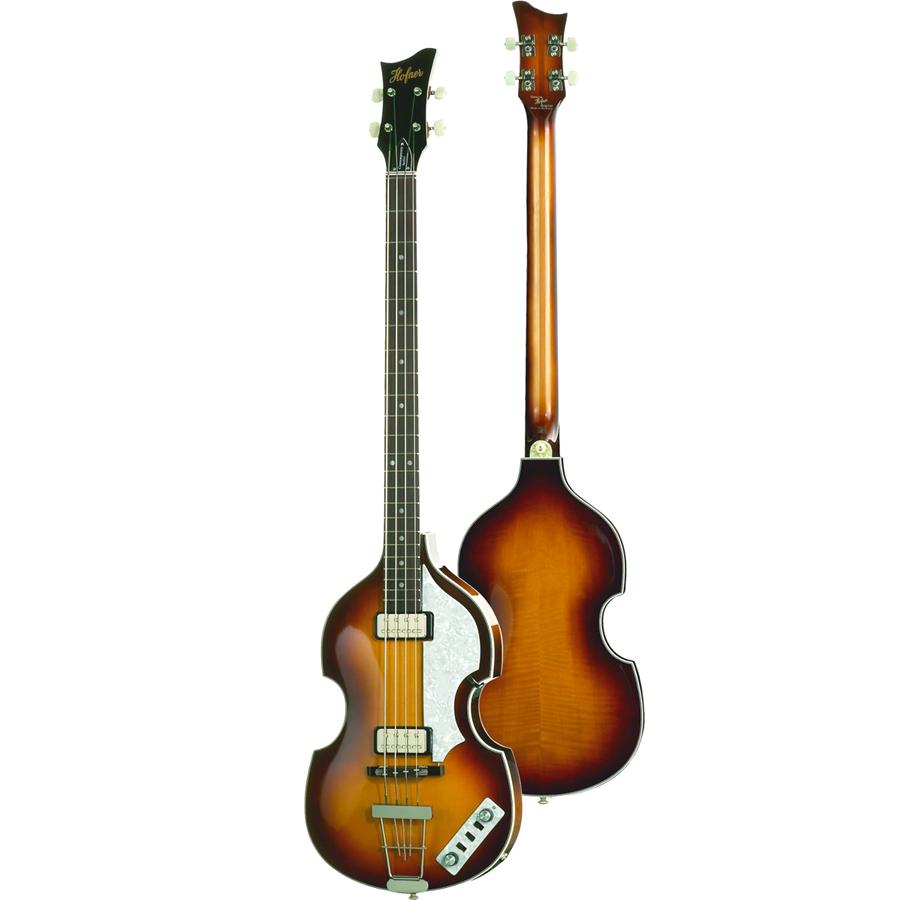 HCT-500/1 - Violin Bass Sunburst Finish w/ Case