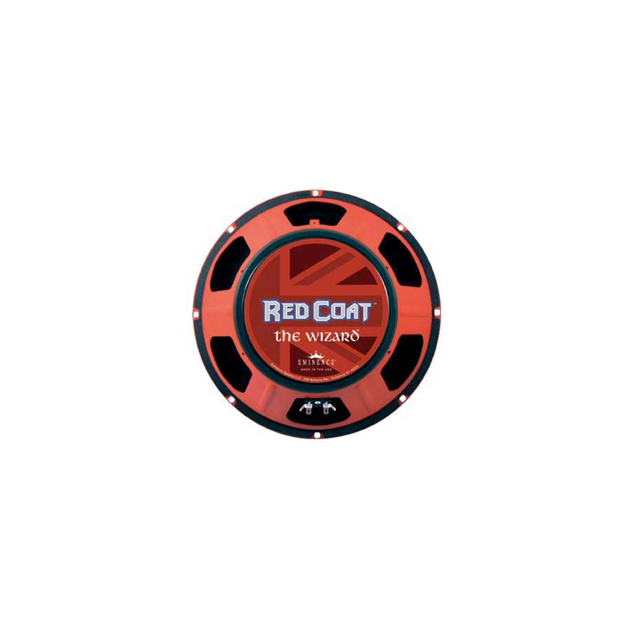 Eminence Red Coat The Wizard 12 Inch 8 Ohms Rear View