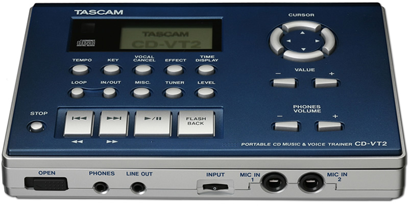 Tascam CD-VT2 View 2