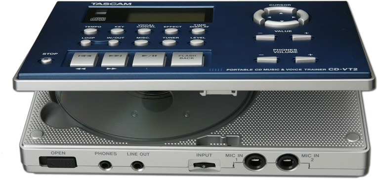 Tascam CD-VT2 View 3