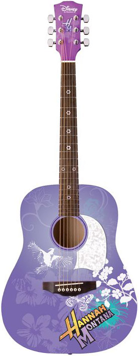Acoustic Hannah Montana Guitar - Purple