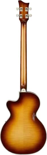 Hofner 500/2 Club Bass - Sunburst Finish View 3
