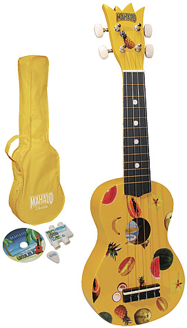 Ukulele Kit - Yellow