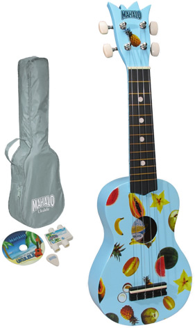 UK-30LB Ukulele Kit - Blue