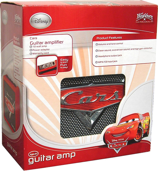 Washburn Pixar Cars Amp View 3
