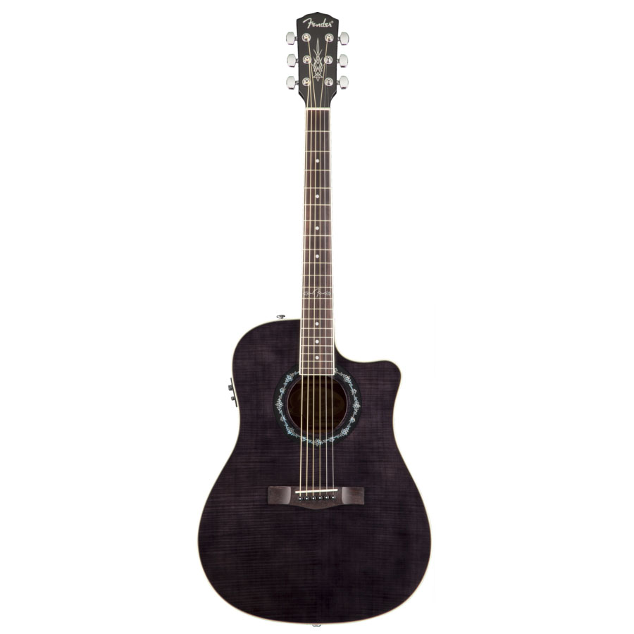 Fender T-Bucket 300 CE - Transparent Black Transparent Black