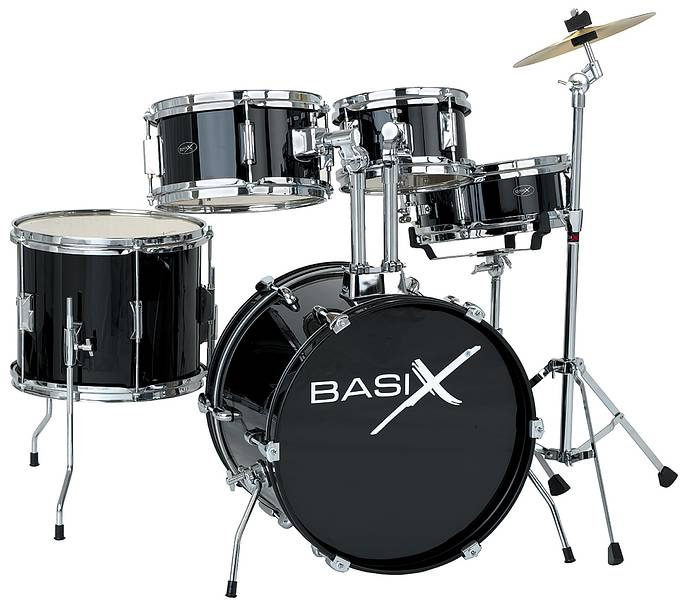 JU-3 - Junior Drum Set Black