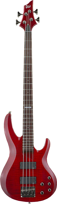 LTD B-154DX - See-thru Red Finish