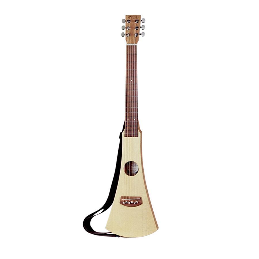 martin backpacker steel string compact acoustic travel guitar w gigbag new 729789062503 ebay. Black Bedroom Furniture Sets. Home Design Ideas