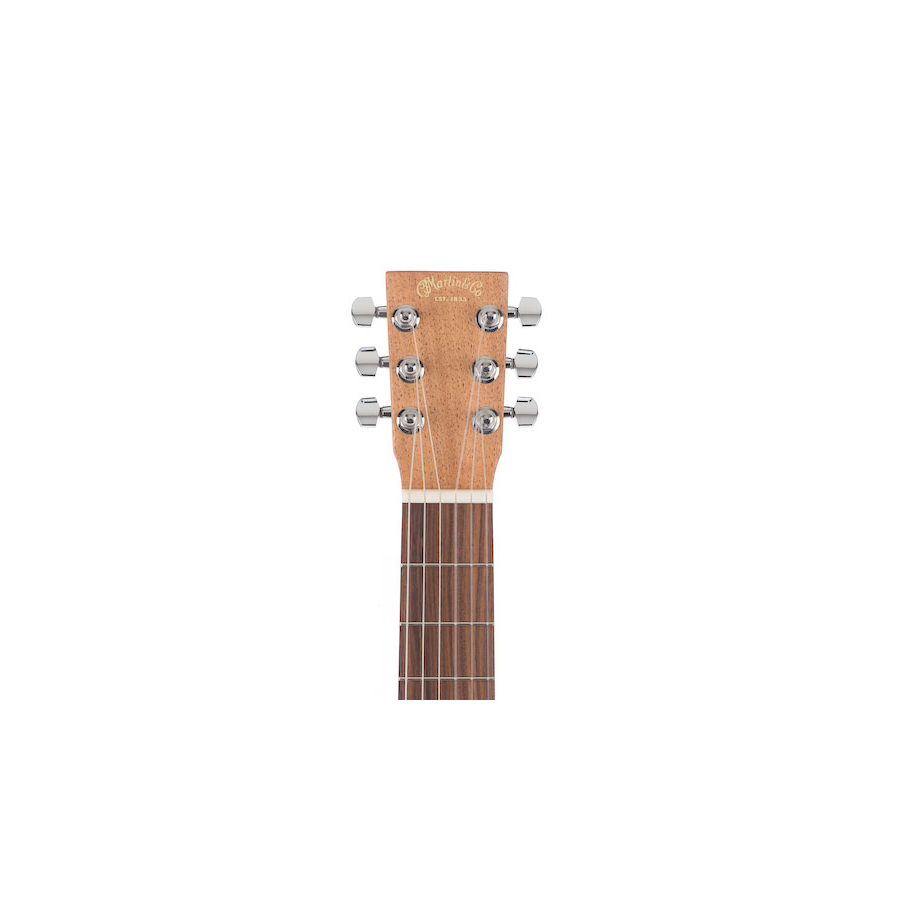 Martin Classical Nylon Backpacker Guitar Headstock View