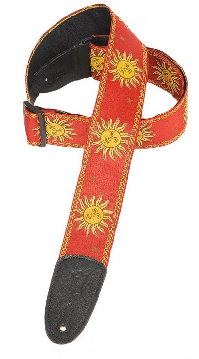 MPJG Guitar Strap Red Sun