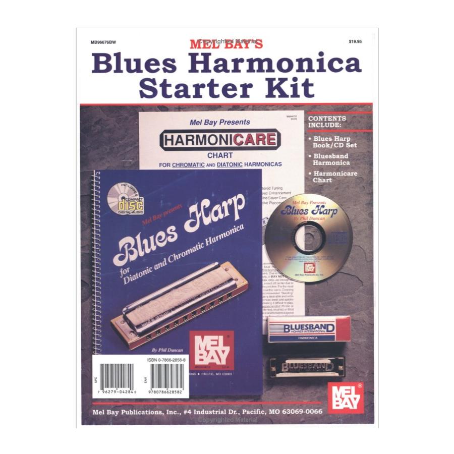 Blues Harmonica Starter Kit