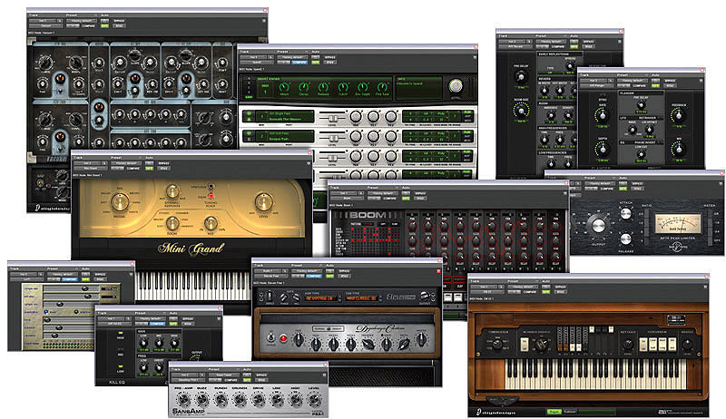 Digidesign Mbox 2 Factory Bundle Plug-in Views