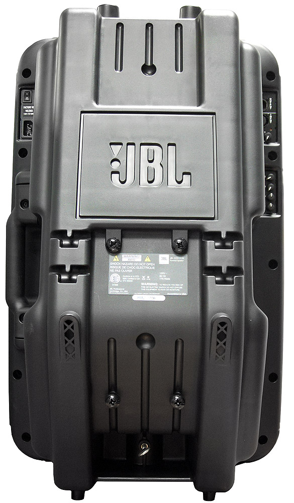 JBL EON15 G2 Rear View