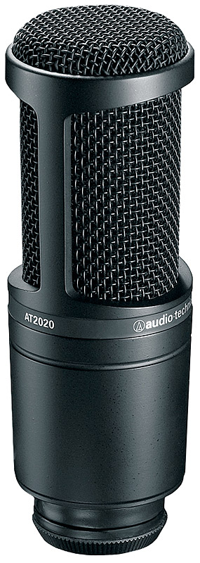 Audio Technica AT2041SP Studio Microphone Pack AT2020 View