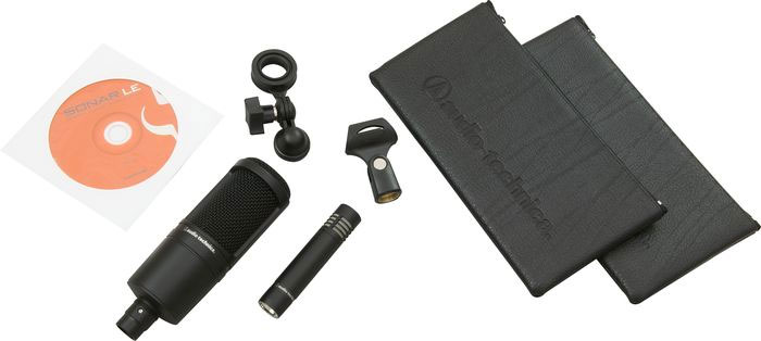Audio Technica AT2041SP Studio Microphone Pack Kit Contents