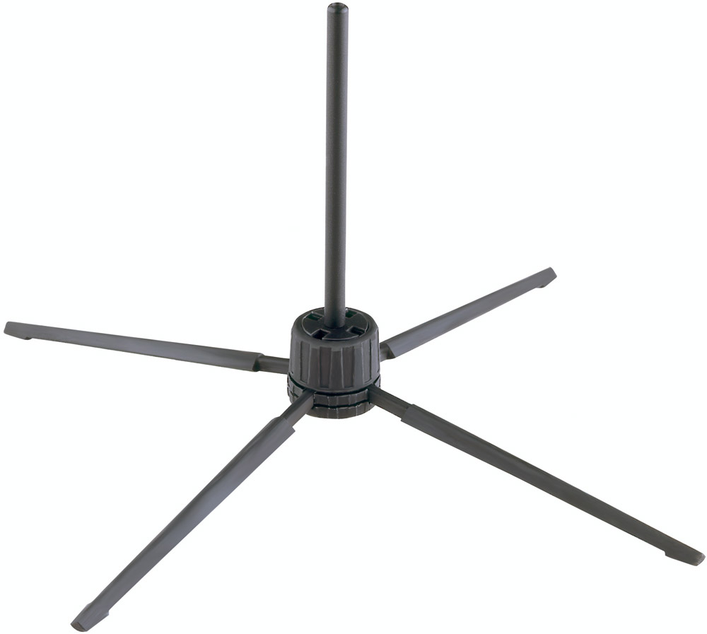 15252 - Black Compact Flute Stand