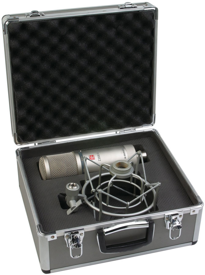 SeElectronics Z3300A Microphone w/Flight Case Case
