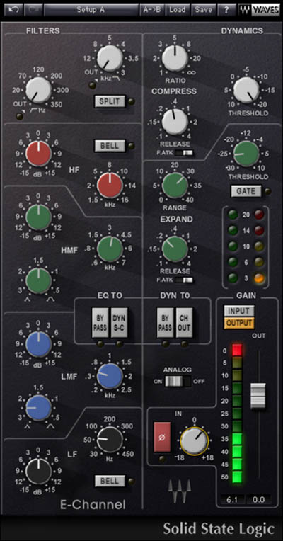 Waves SSL - TDM Digital Download E-Channel