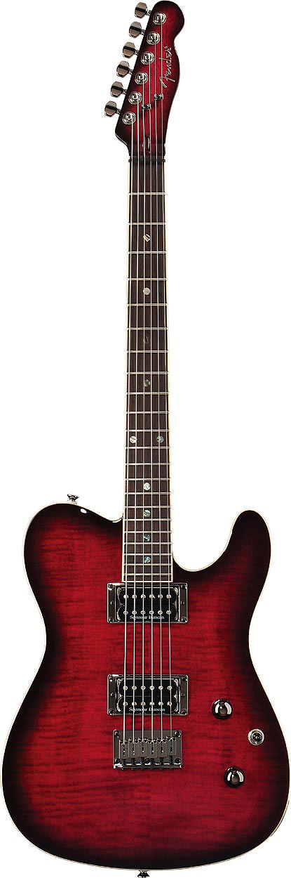 Custom Telecaster® FMT HH - Black Cherry Burst