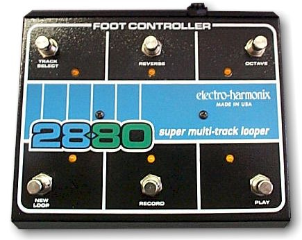 Electro Harmonix 2880 Foot Controller Side View