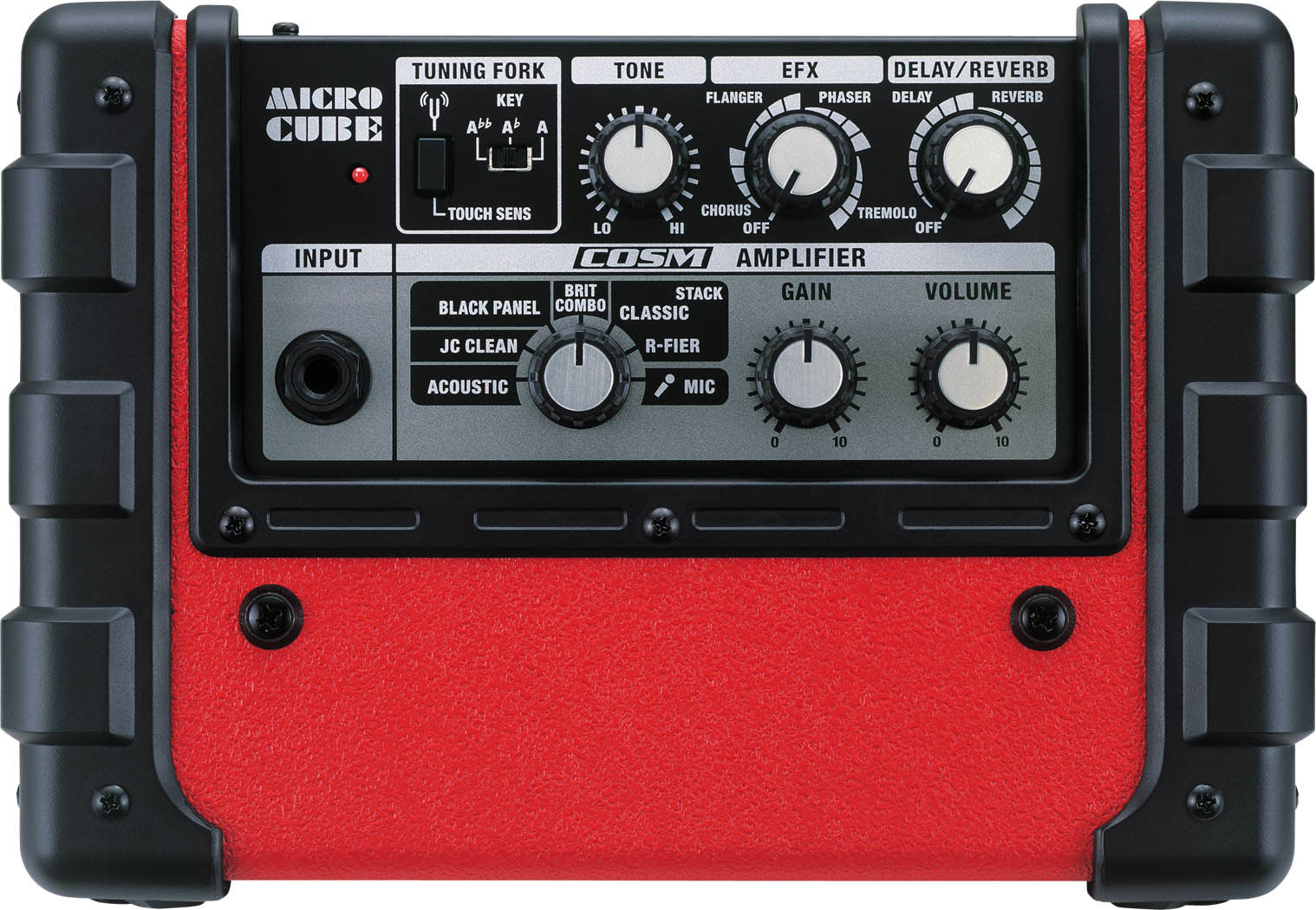 Roland Micro Cube Red Top View