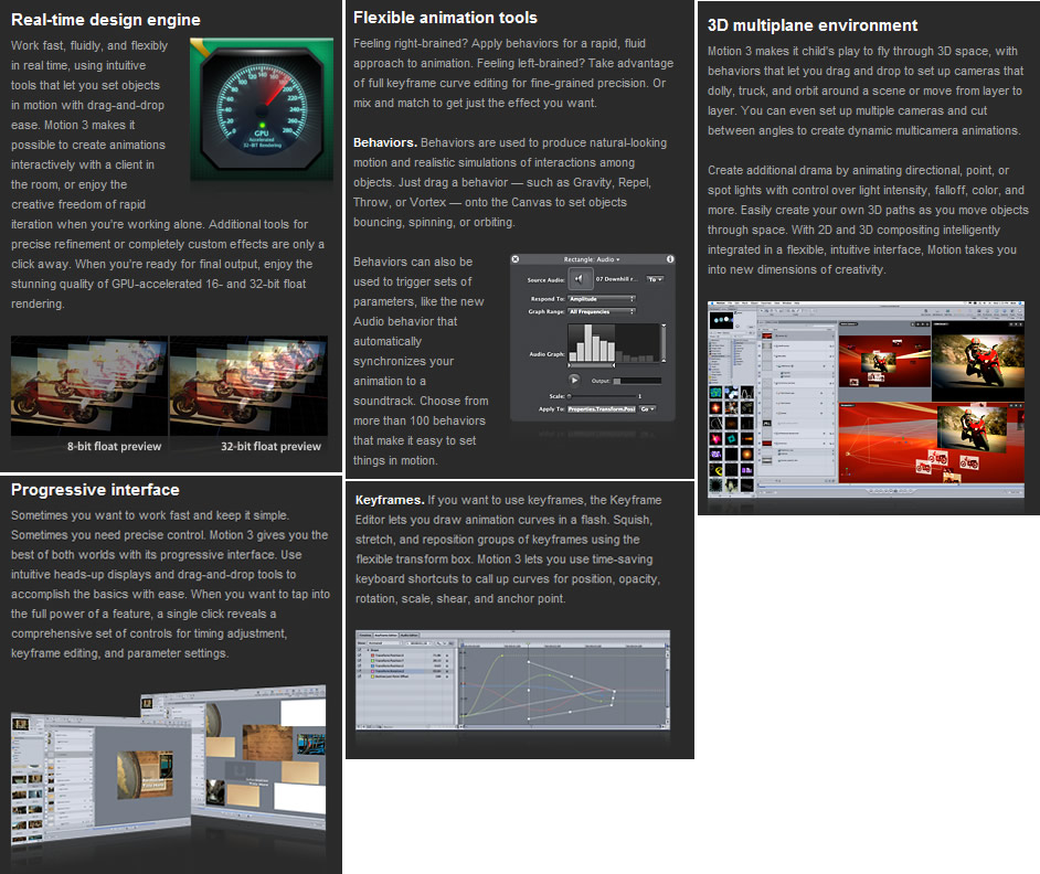 Apple Final Cut Studio 2 Includes Motion 3