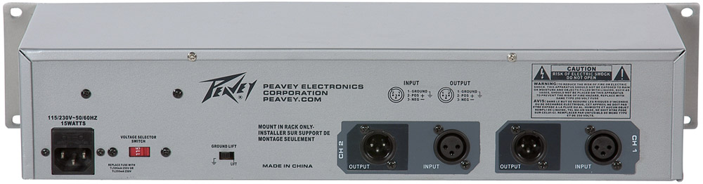 Peavey 231EQ Rear View