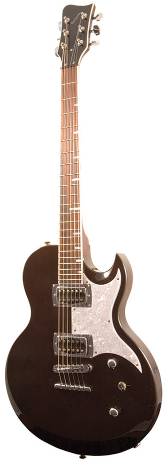8th street music first act ce 140 lola electric guitar black. Black Bedroom Furniture Sets. Home Design Ideas