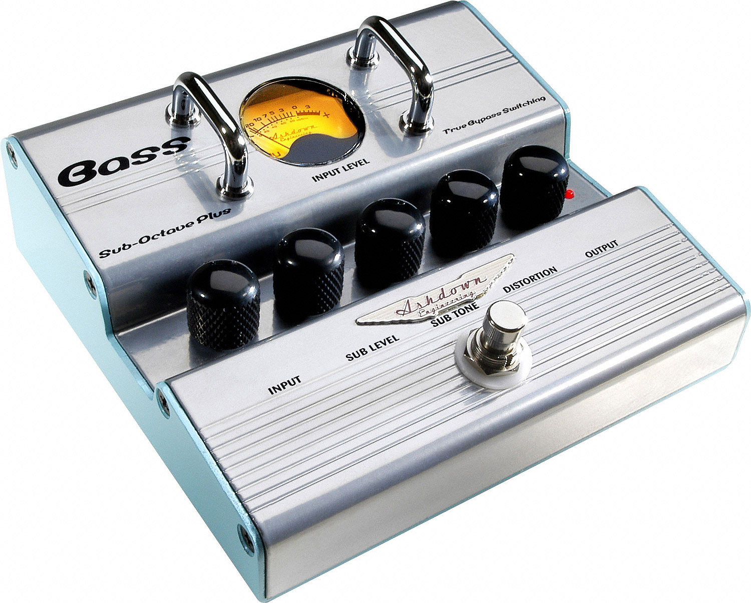 Sub-Octave Plus Bass Amplifier Pedal
