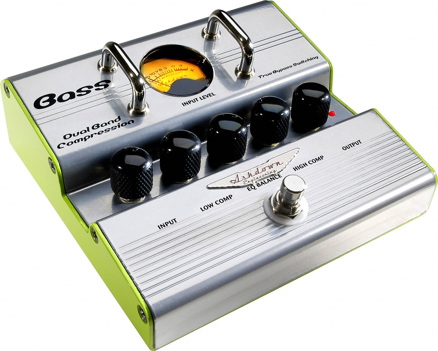 Dual  Band Bass Compressor Amplifier Pedal