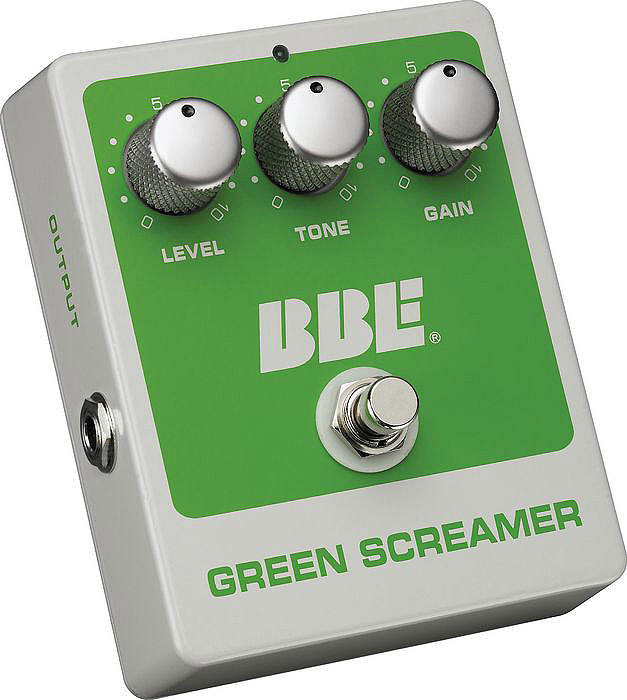 Green Screamer Overdrive