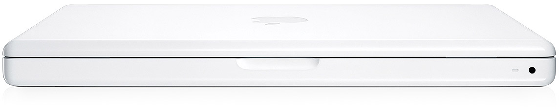 Apple MacBook 13 Inch 2.0GHz Intel Core 2 Duo - White Closed View
