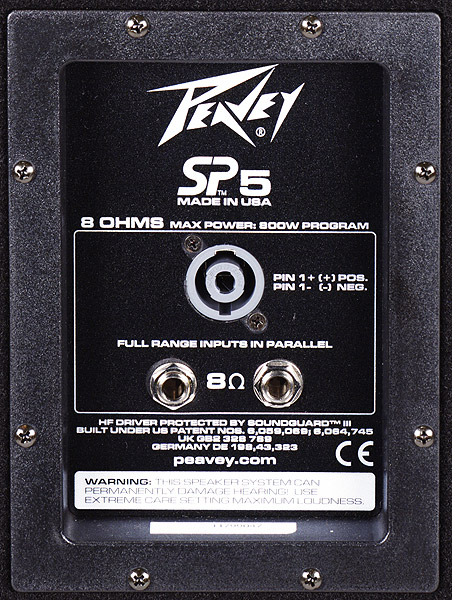 Peavey SP5 Rear View