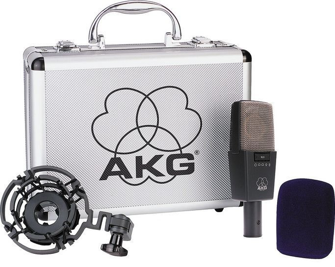 Akg Pro Studio Pack C 414 B-XLS w/Accessories