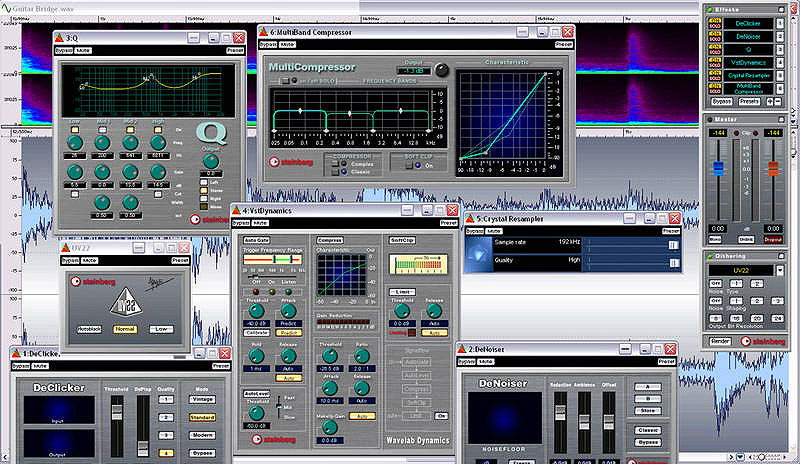 Steinberg Wavelab Studio 6 Interface View 2