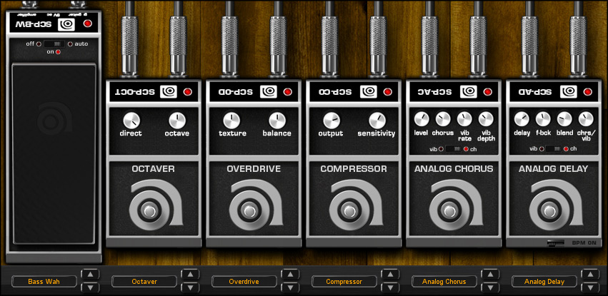 Ik Multimedia Ampeg SVX Interface View 5